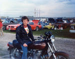 Dad on the KZ900 - 1979